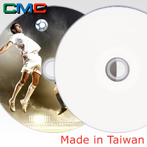 ForEver Plus DVD-R 4.7GB 16x Full Face Printable Taiwan Made by CMC Magnetics