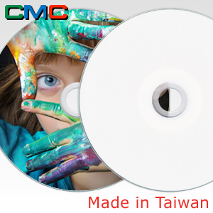ForEver Plus CD-R 700MB 52x Full Face Printable Taiwan Made by CMC Magnetics
