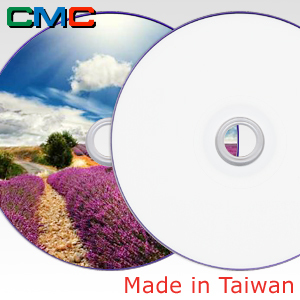 ForEver Plus DVD+R DL 8.5GB 8x Full Face Printable Taiwan Made by CMC Magnetics
