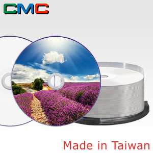 ForEver Plus DVD+R DL 8.5GB 8x Full Face Printable Cakebox 25 Taiwan Made by CMC Magnetics