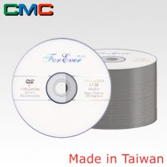 50τεμ. ForEver Plus DVD-R 4.7GB 16x White Spindle 50 Taiwan Made by CMC Magnetics