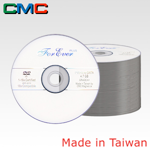 ForEver Plus DVD-R 4.7GB 16x White Spindle 50 Taiwan Made by CMC Magnetics