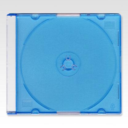 Πλαστική Θήκη CD Slim 5.2mm Γαλάζια Μονή