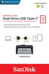 SanDisk Ultra Dual Drive USB Type-C 32GB