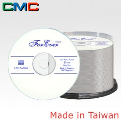 50τεμ. ForEver Plus CD-R Audio 80min 32x White Cakebox 50 Taiwan Made by CMC Magnetics