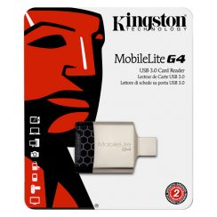 Kingston MobileLite G4 USB 3.0 Card Reader | FCR-MLG4