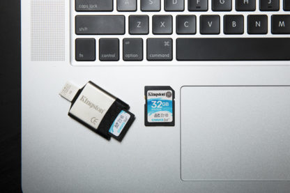 Kingston Canvas Go! SecureDigital SDHC 32GB UHS-I/U3 | SDG/32GB