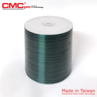 CMC Pro CD-R 700MB 48x Full Face Printable Spindle 100 Taiwan Made Powered by Taiyo Yuden Technology