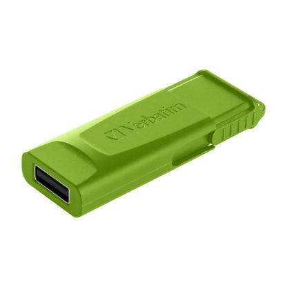 Verbatim Slider USB Drive Green