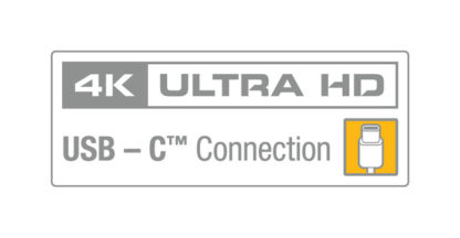 4K Ultra HD | USB-C Connection