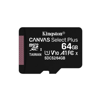 Kingston Canvas Select Plus microSDXC with adapter 64GB A1 | SDCS2/64GB