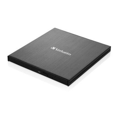 Verbatim External Slimline USB 3.2 Gen 1 CD/DVD Writer | 43886